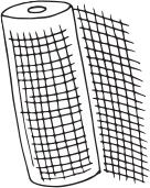 Baupor fiberglass grid